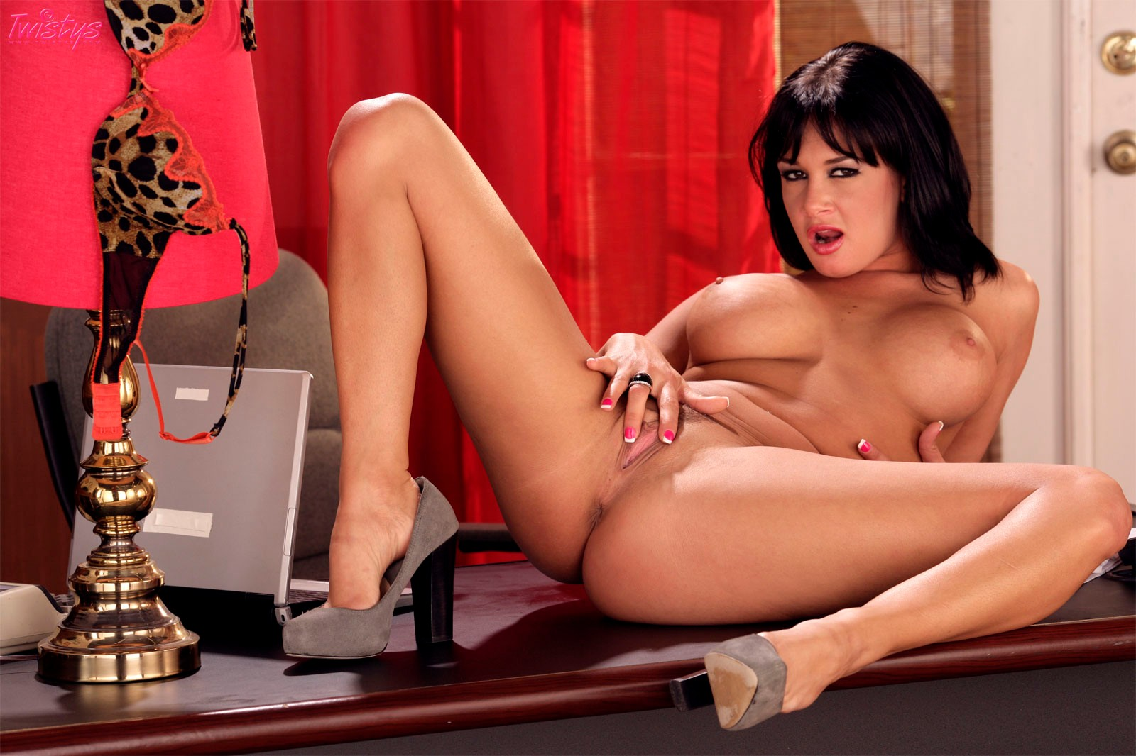 Tory Lane Takes It All Off At The Office  Club Tory Lane-9181