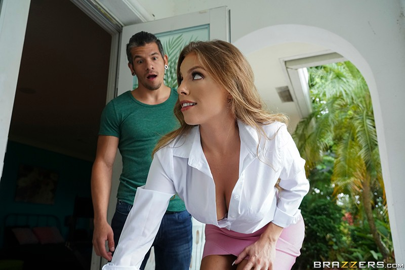 Britney Amber: Sampling New Goods - 1