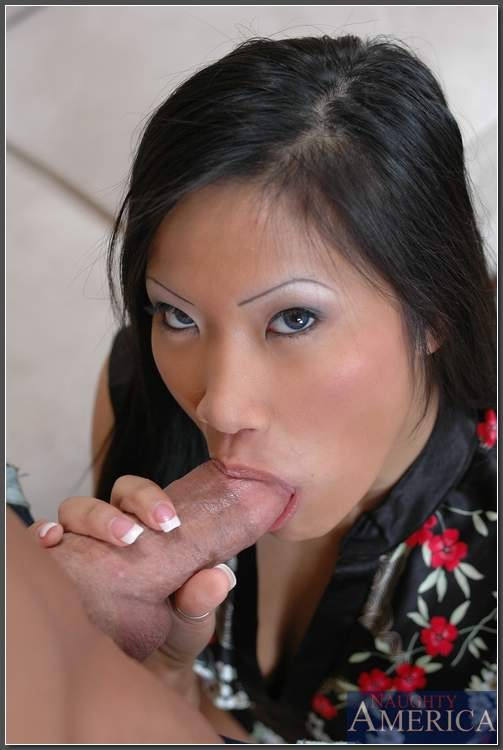 Christina Aguchi Sucking Cock
