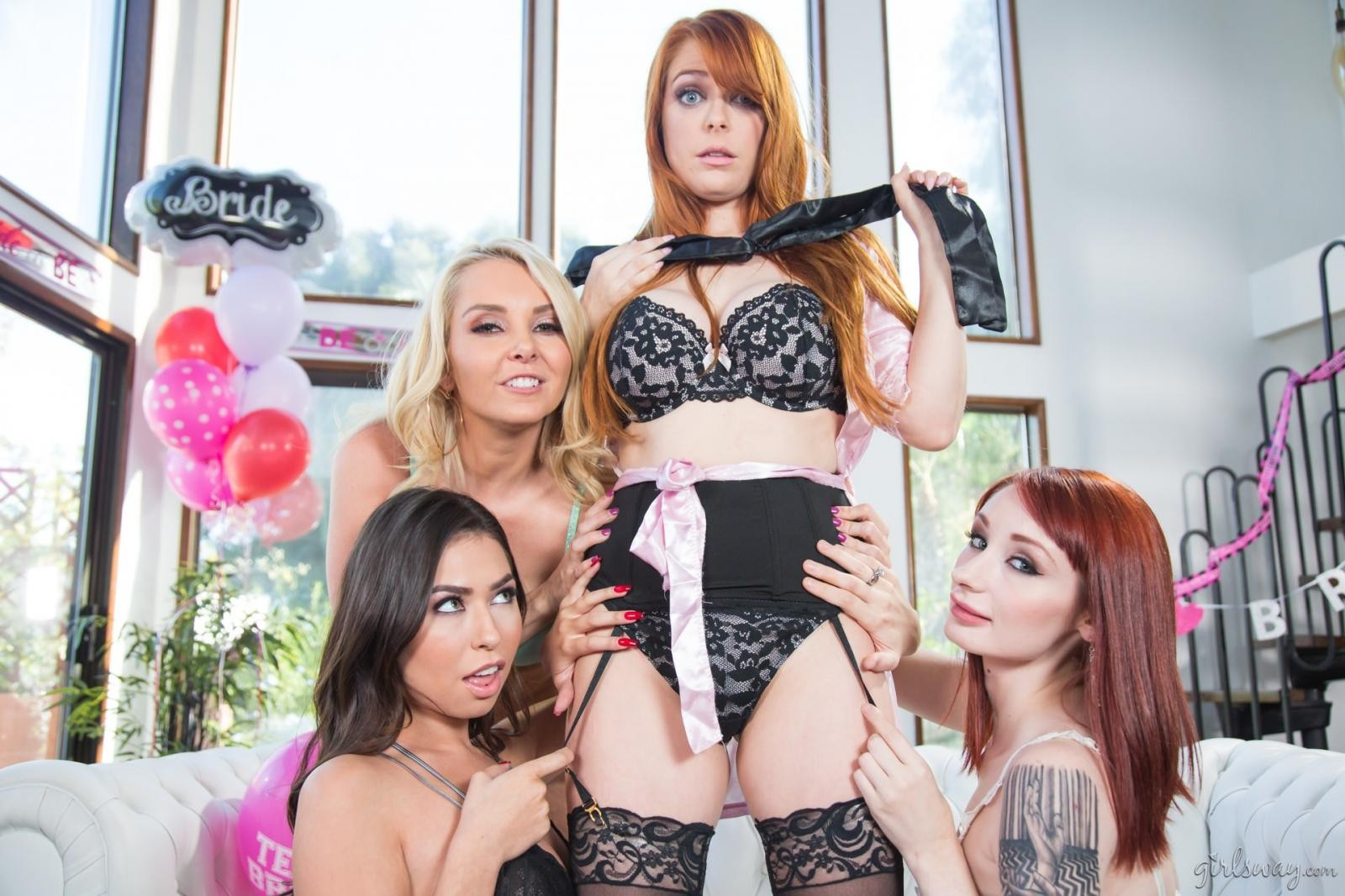 Violet Monroe: Strap-On Stories: Gangbang Bachelorette - 1