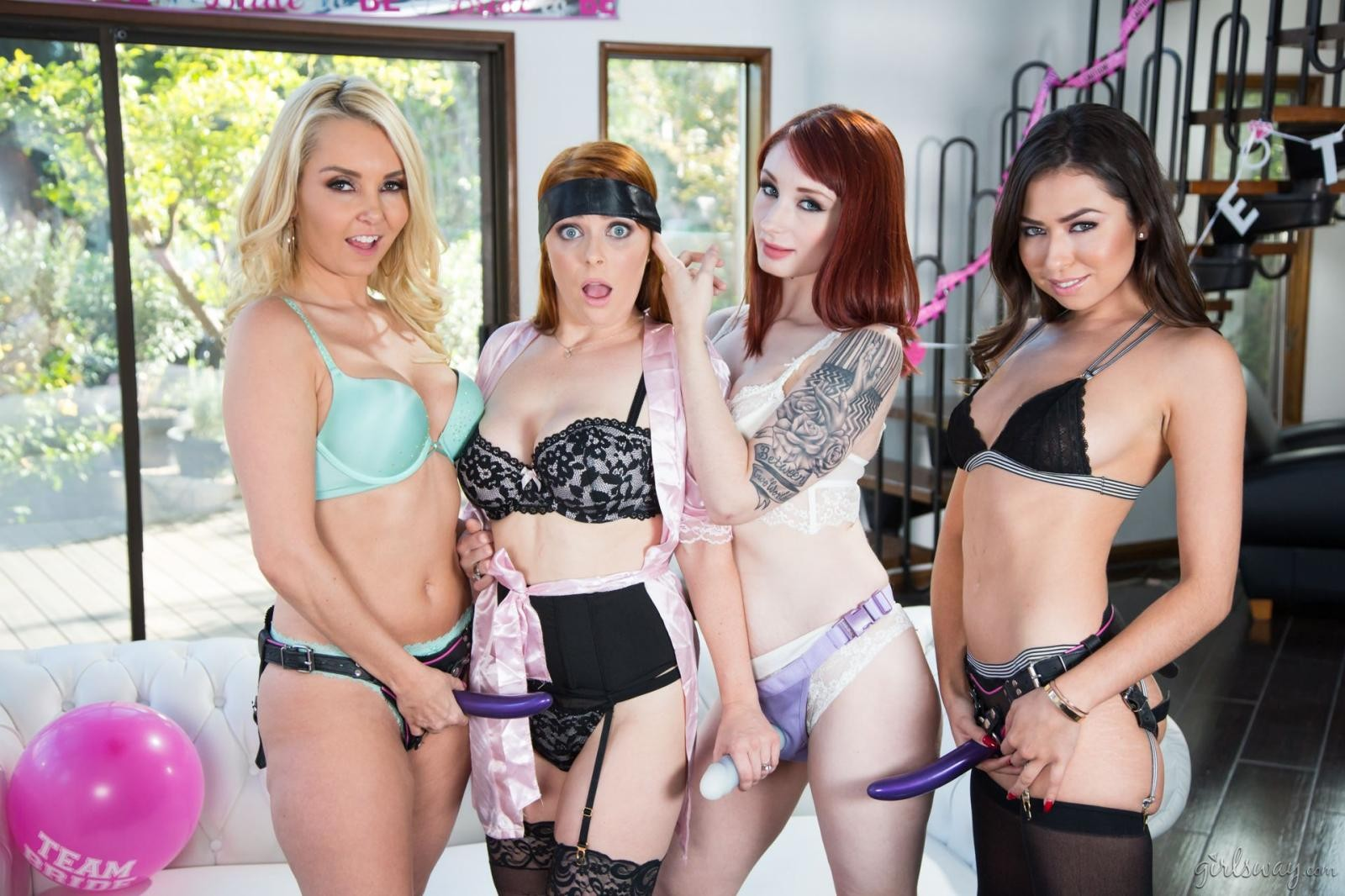Violet Monroe: Strap-On Stories: Gangbang Bachelorette - 2