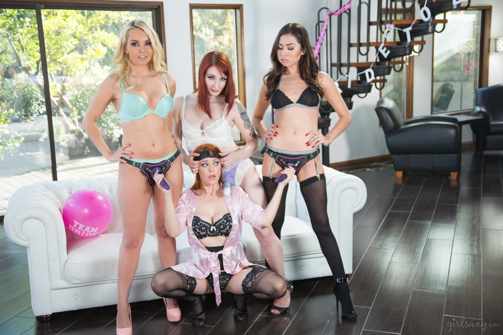 Violet Monroe: Strap-On Stories: Gangbang Bachelorette - 3
