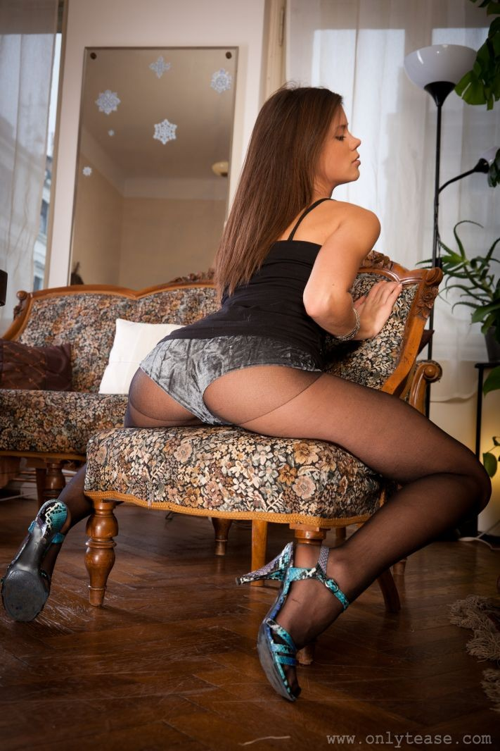 Little Caprice From Behind